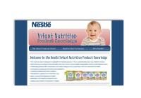 Nestle Web Design